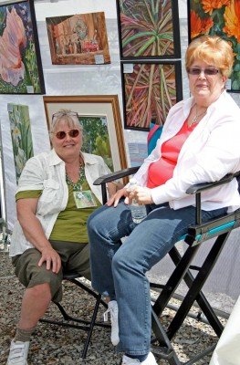 Heirlooms Show with Patricia L. Paquin and Patricia Haftar